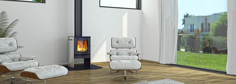 Bosca Spirit 550 Stainless Wood Fire